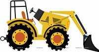 Tractor theme Cutout
