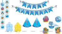 Underwater Super saver birthday decoration kit (Pack of 58 pieces)