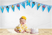 Underwater Theme Triangle Bunting (10ft )