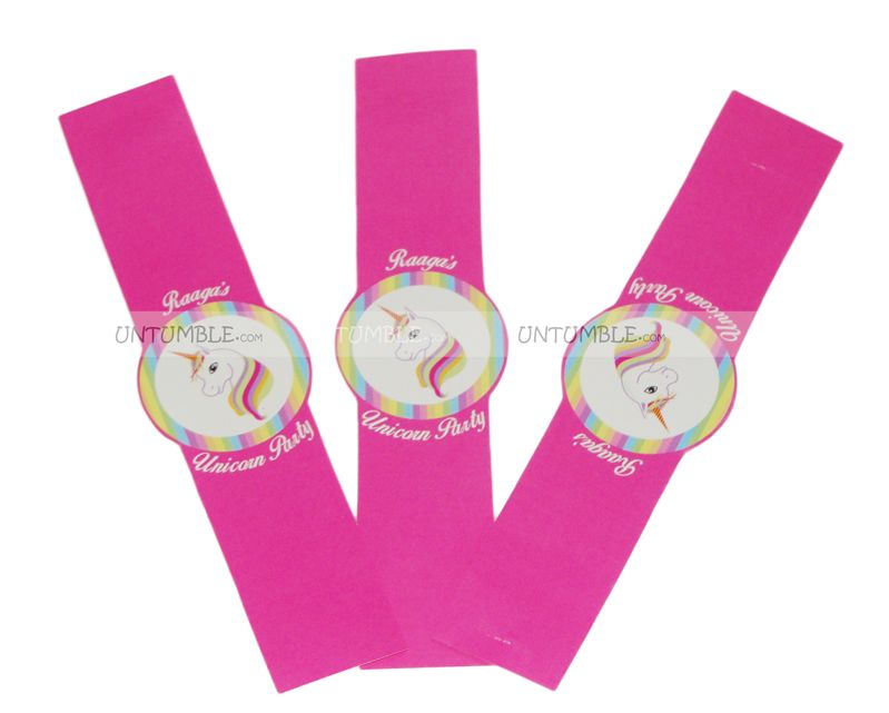 Unicorn Wrist Bands