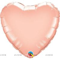 "Pink Heart Foil Balloon (18"")"