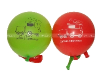 Vehicles birthday theme Printed Balloons