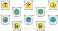 Vir The Robot Boy Cups (Pack of 20)