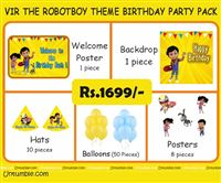 Vir The Robot Boy Party Pack