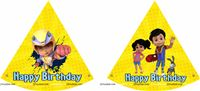 Vir Theme Party Hats Blue (Set of 6)