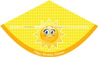 You are My Sunshine Hats (Set of 6)